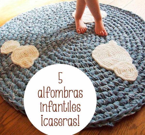 5 alfombras infantiles caseras - Alfombras habitacion ninos ...