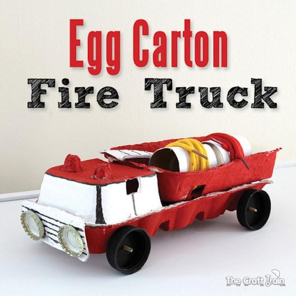 6 manualidades recicladas con cartones de huevo pequeocio - Manualidades infantiles recicladas ...
