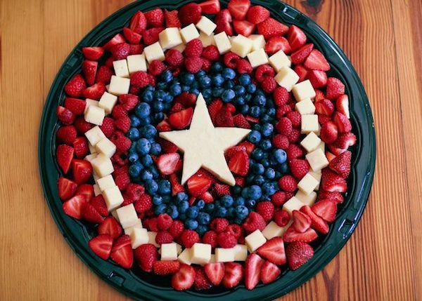 ideas para fiestas infantiles capitán América