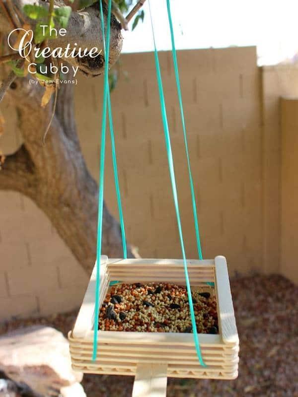 Comederos para pájaros fáciles