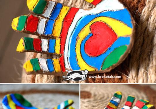 Manualidades para niños con pasta de modelar