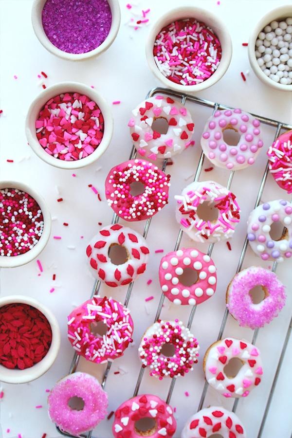 Donuts caseros decorados