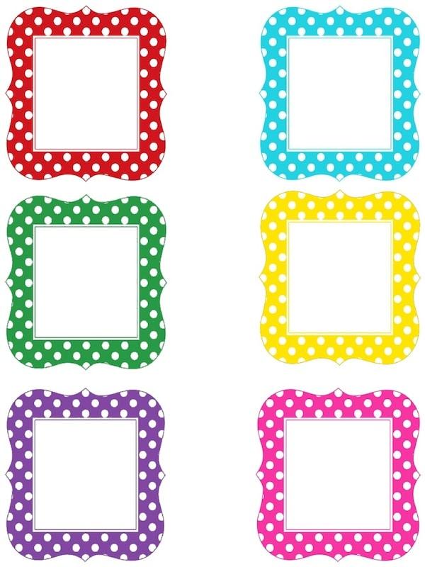Etiquetas de Colores Para Imprimir Etiquetas Para Imprimir Gratis