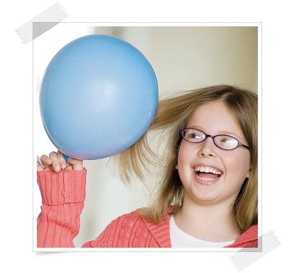 4 experimentos para niños ¡con globos!