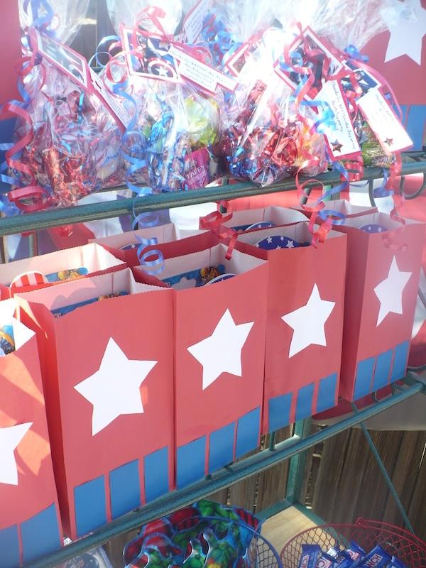 Detalles de cumpleaños del Capitán América