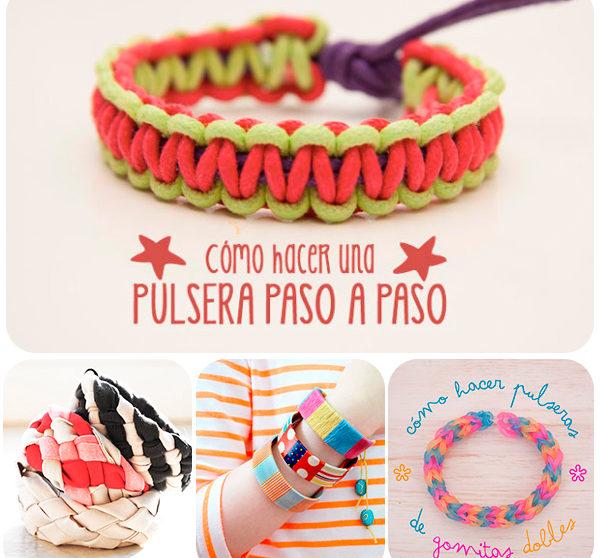 77c2135f09c7 Hacer pulseras, una manualidad infantil divertida | Pequeocio.com
