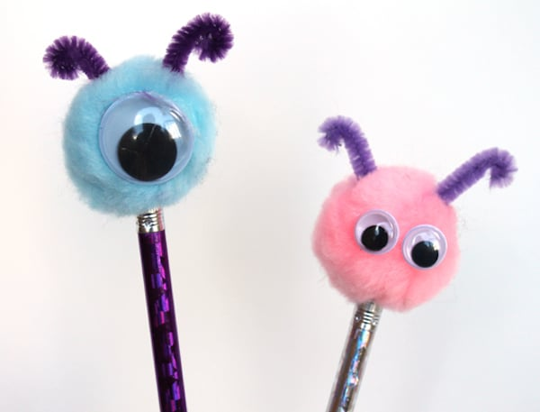 Vuelta al cole: 5 manualidades para decorar lápices - PequeOcio