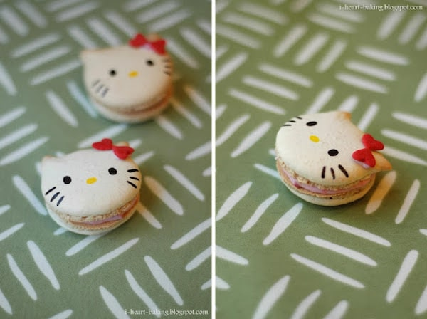 Macarons de Kitty