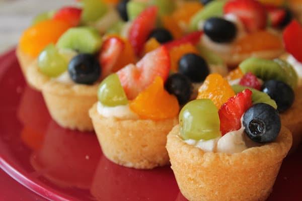 Mini tarteletas de fruta