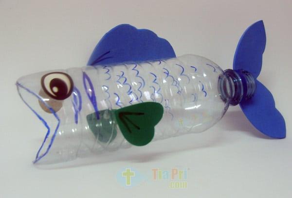 6 manualidades con botellas de pl stico divertidas - Que se puede hacer con botellas de plastico ...