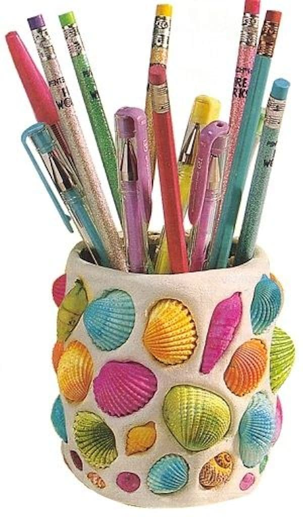 Vuelta al cole 7 portal pices divertidos pequeocio Cool pencil holder ideas