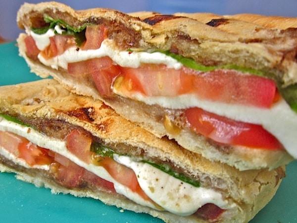 Sandwich vegetarianos