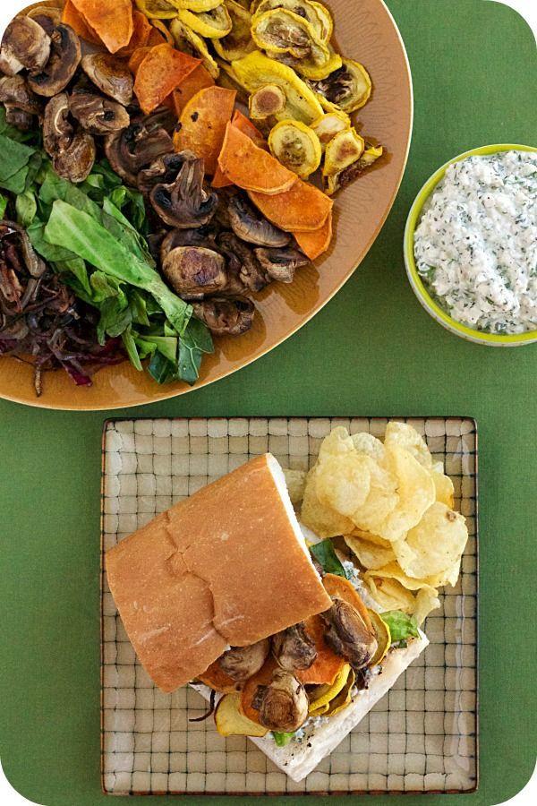 Sandwiches con verduras