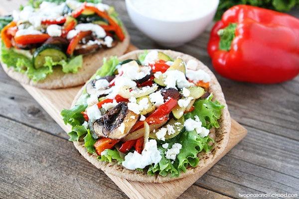 Sandwich de verdura