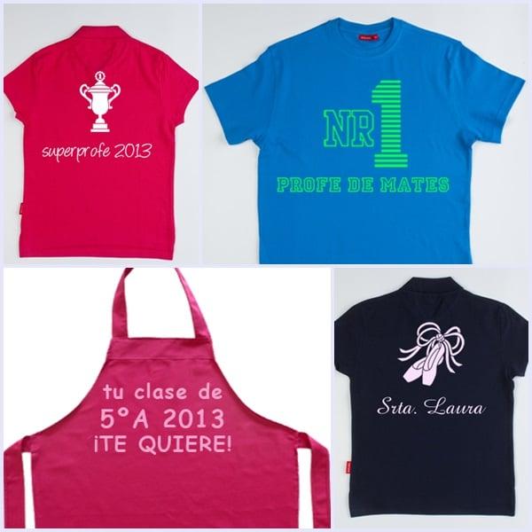 Regalos especiales: camisetas personalizadas