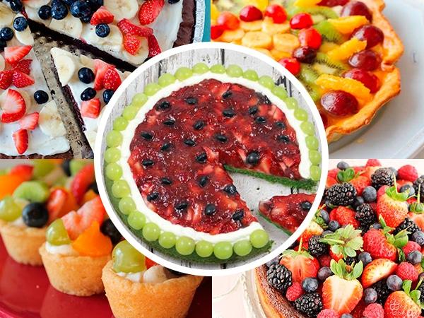 tarta de frutas recetas fciles