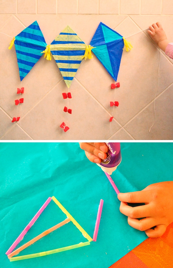 Manualidades con pajitas para niños