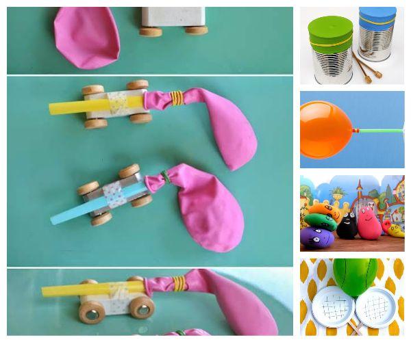 Manualidades infantiles con globos