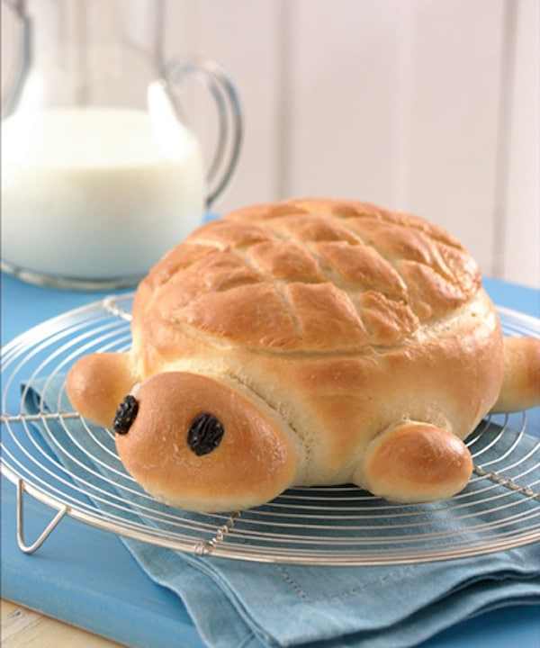 Hacer pan con los niños