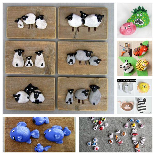 Piedras pintadas una manualidad muy divertida - Piedras para decorar ...