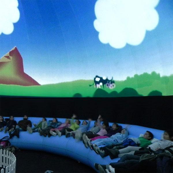 Planetario, actividad infantil