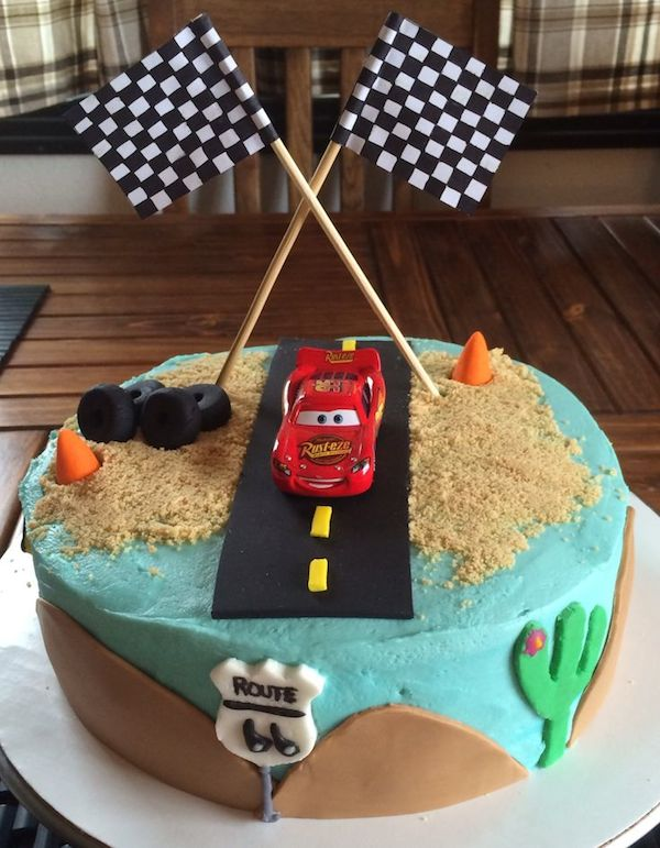 Como Decorar Tarta De Cars