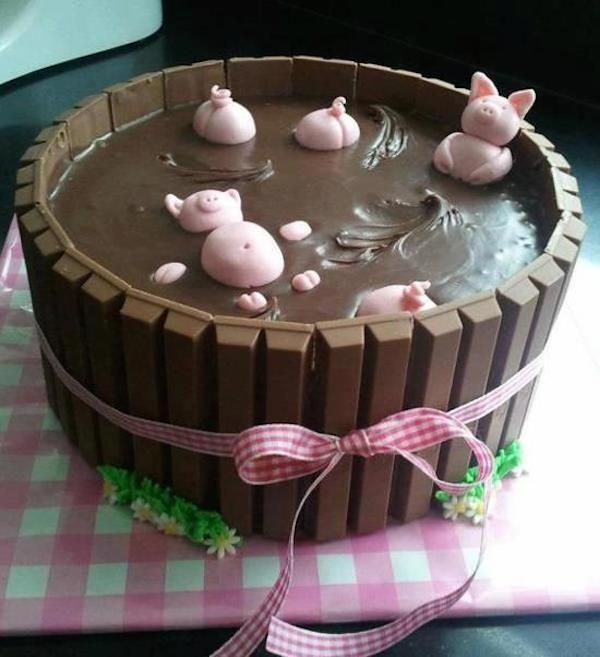 Tartas de chocolate para fiestas