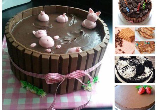 Recetas de tarta de chocolate fáciles