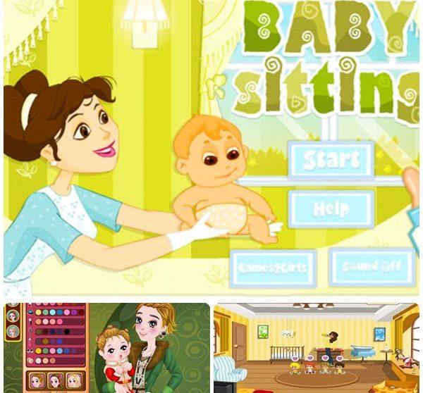 ae1ad6b6b Juegos de cuidar bebés para tabletas