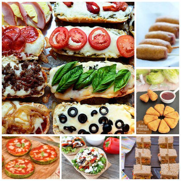 6 cenas r pidas y divertidas para ni os pequeocio - Cenas ricas para hacer en casa ...