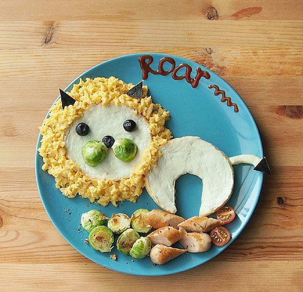 Cocina para niños creativa