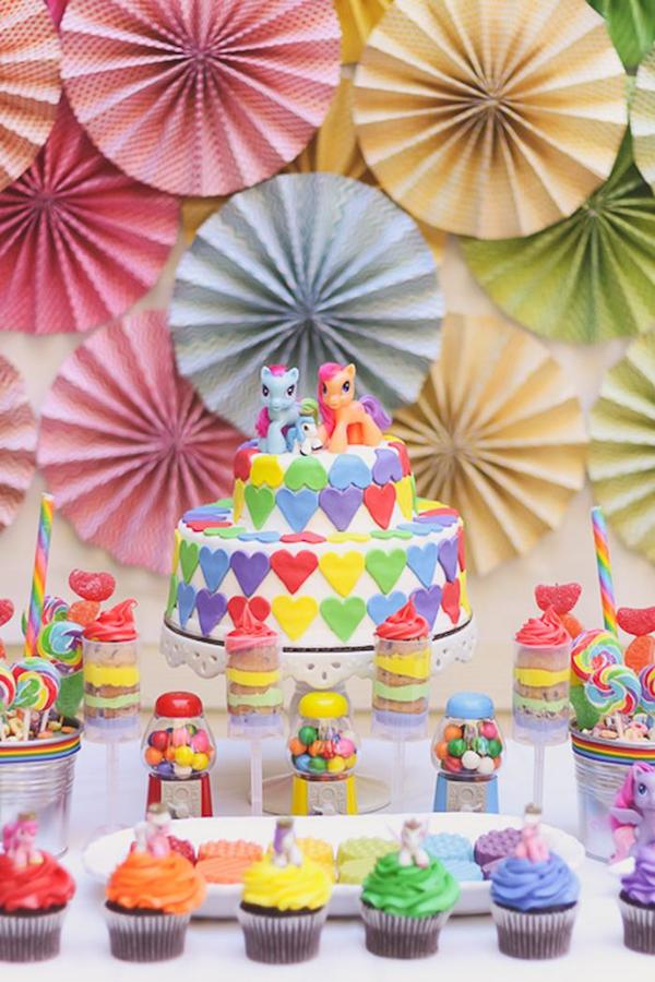 Fiestas infantiles, ¡un cumpleaños de Little Pony! - PequeOcio