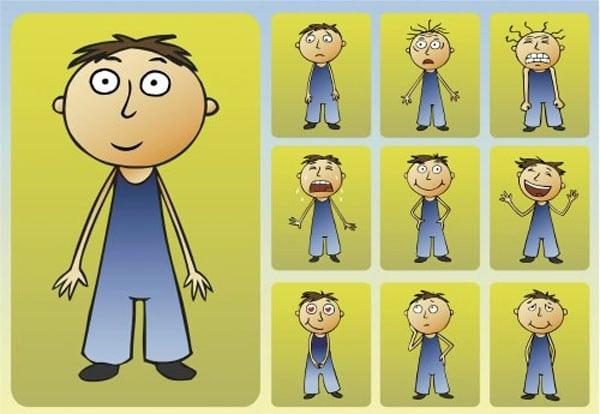 Juegos para ense ar las emociones a los ni os for Expresiones cortas