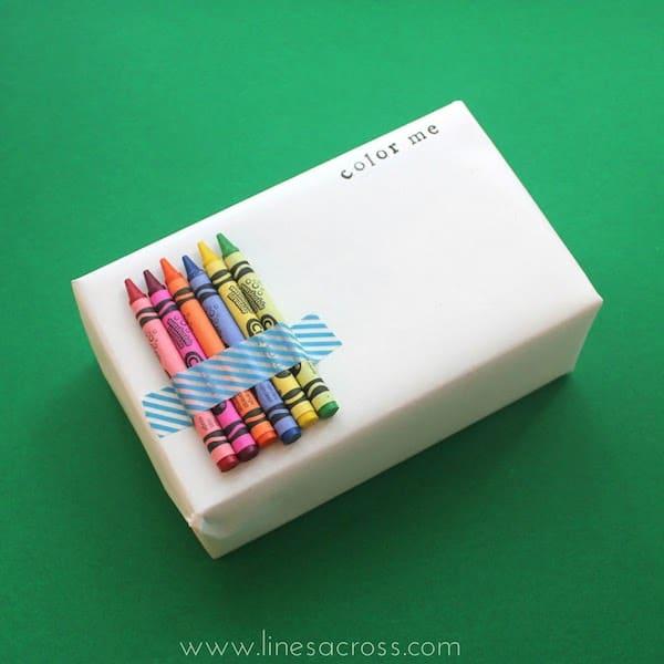 Cómo envolver regalos para niños