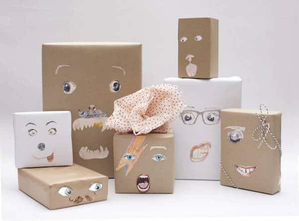 Envolver regalos 5 paquetes divertidos para ni os pequeocio - Paquetes originales para regalos ...
