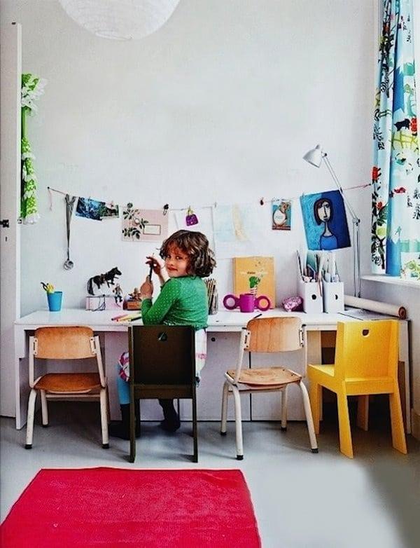 Escritorios infantiles prácticos