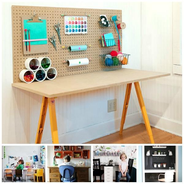Habitaciones infantiles escritorios en orden - Modelos de habitaciones infantiles ...