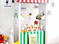 Kiosk barnrum