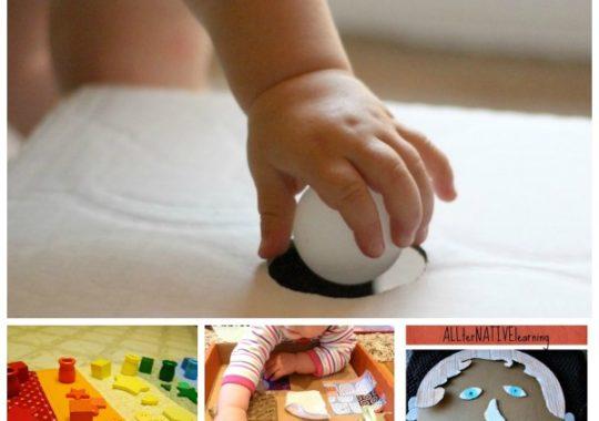 Juegos caseros para bebés