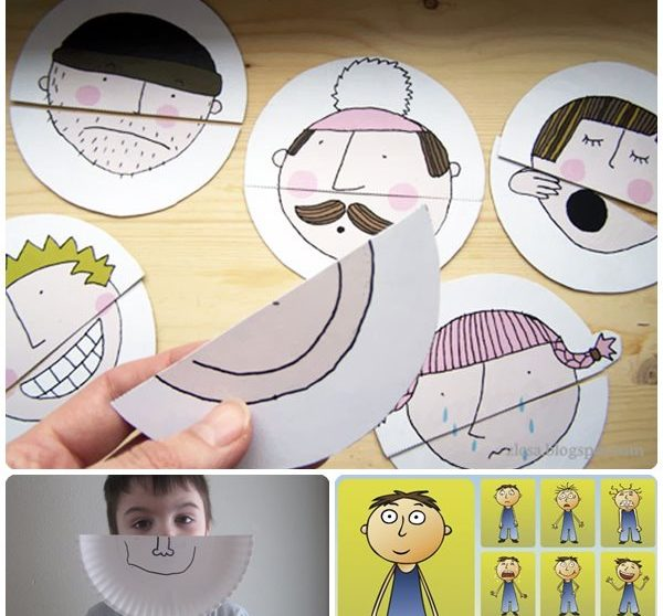Juegos para enseñar las emociones a los niños | Pequeocio.com