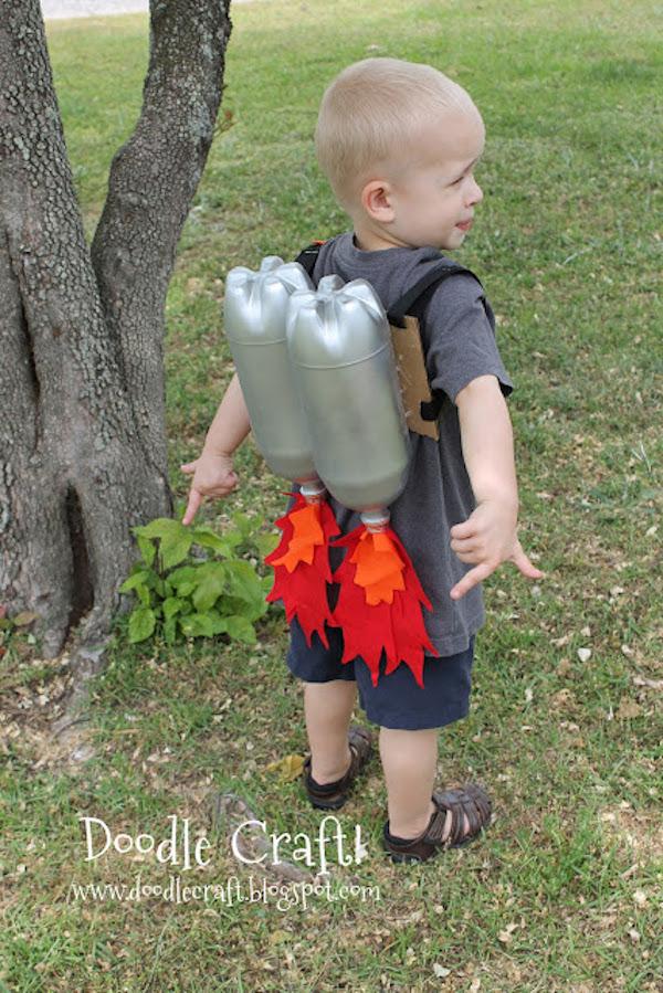 manualidades infantiles con botellas