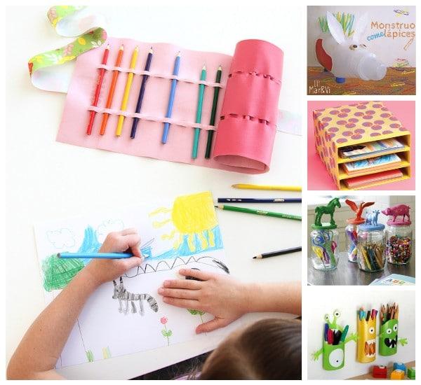 5 manualidades infantiles para mantener el orden pequeocio - Ofertas de trabajos manuales para hacer en casa ...