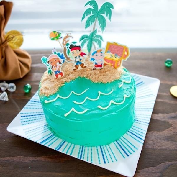 tartas de cumpleaos de piratas