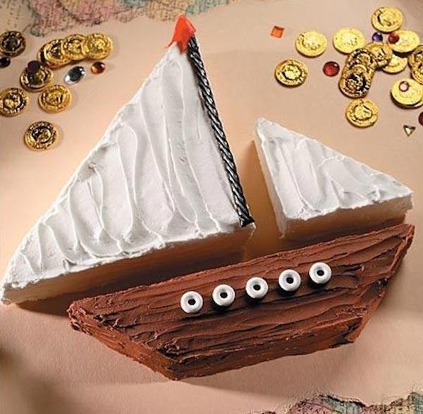 tartas cumpleaños pirata