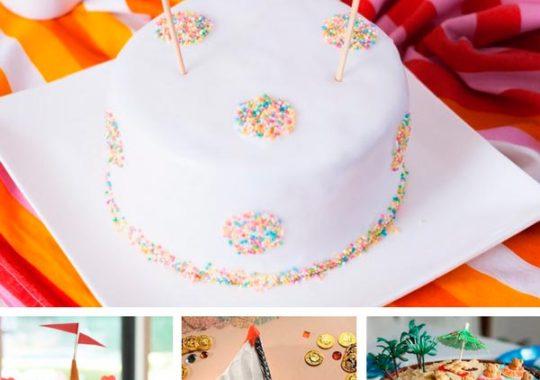 15 tartas de cumpleaños súper FÁCILES 1