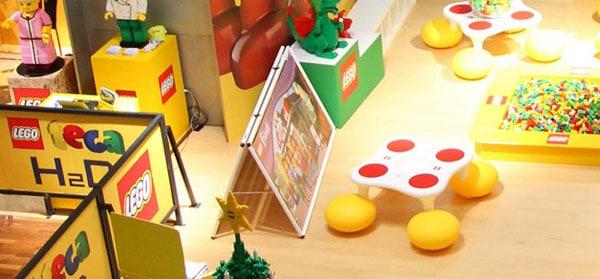 Legoteca, actividad en Madrid