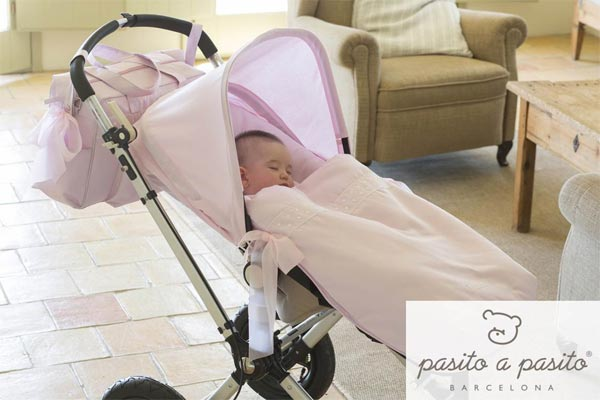 Puericultura: fundas para carritos de bebés