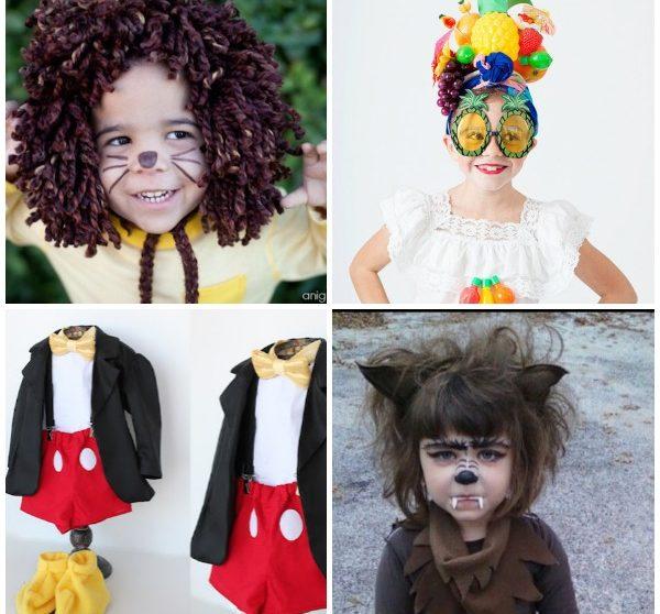 4 disfraces de halloween caseros para nios