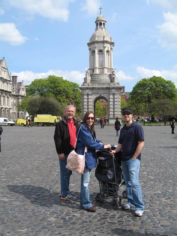 Vacaciones con niños en Dublín