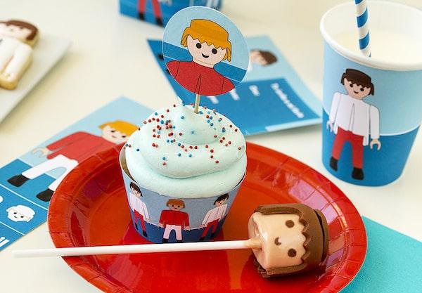 Cumpleaños infantil de Playmobil